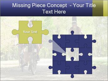 Bicycle Park Trip PowerPoint Template - Slide 45