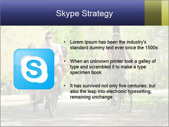 Bicycle Park Trip PowerPoint Template - Slide 8