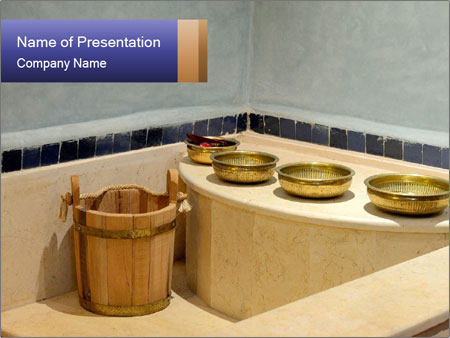 Hot Hammam PowerPoint Template