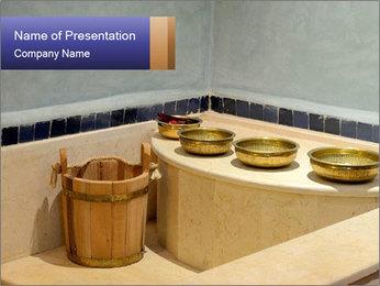 Hot Hammam PowerPoint Templates - Slide 1