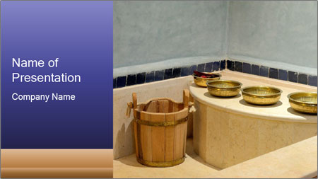 Hot Hammam PowerPoint Template