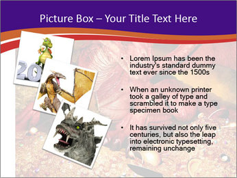 Red Dragon PowerPoint Templates - Slide 17