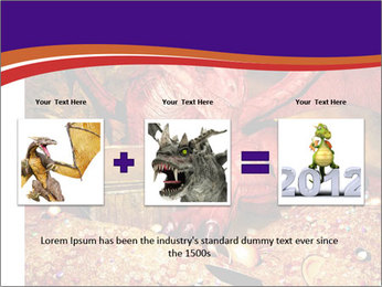 Red Dragon PowerPoint Templates - Slide 22