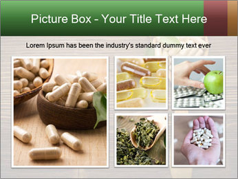 Homeopathic Pills In Wooden Spoon PowerPoint Templates - Slide 19