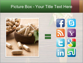 Homeopathic Pills In Wooden Spoon PowerPoint Templates - Slide 21