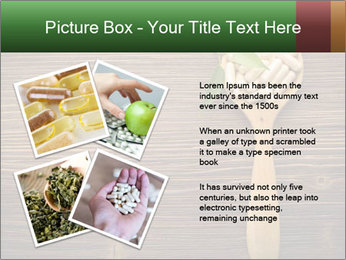 Homeopathic Pills In Wooden Spoon PowerPoint Templates - Slide 23