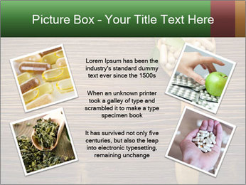 Homeopathic Pills In Wooden Spoon PowerPoint Templates - Slide 24