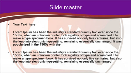 Muscular Hand Sign PowerPoint Template - Slide 2