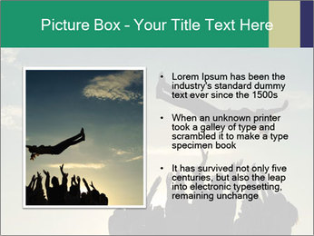 Happy Group Of Friends PowerPoint Templates - Slide 13