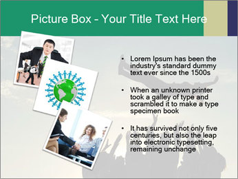 Happy Group Of Friends PowerPoint Templates - Slide 17