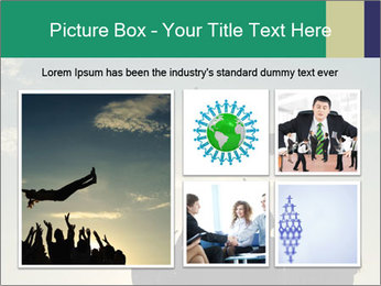 Happy Group Of Friends PowerPoint Templates - Slide 19