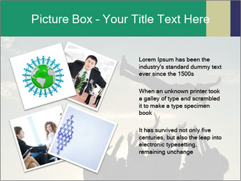 Happy Group Of Friends PowerPoint Templates - Slide 23