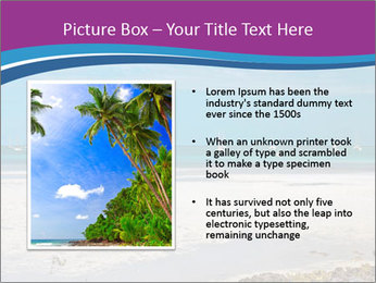 Empty Beach PowerPoint Templates - Slide 13