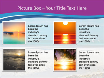 Empty Beach PowerPoint Templates - Slide 14