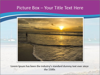 Empty Beach PowerPoint Templates - Slide 15