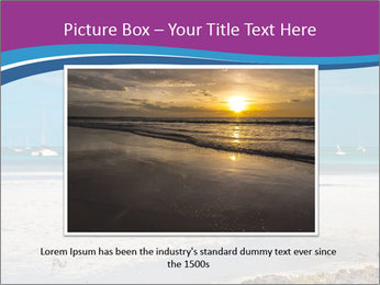 Empty Beach PowerPoint Templates - Slide 16