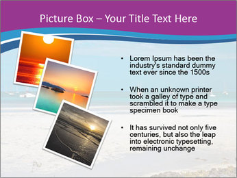 Empty Beach PowerPoint Templates - Slide 17
