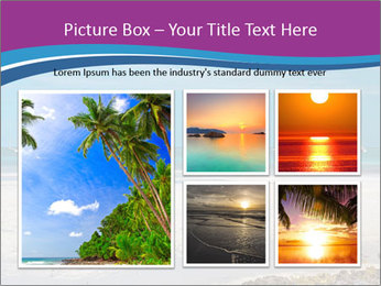 Empty Beach PowerPoint Templates - Slide 19