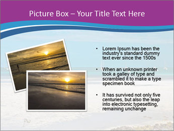 Empty Beach PowerPoint Templates - Slide 20