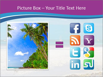Empty Beach PowerPoint Templates - Slide 21