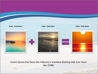 Empty Beach PowerPoint Templates - Slide 22