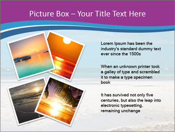 Empty Beach PowerPoint Templates - Slide 23