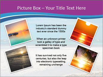Empty Beach PowerPoint Templates - Slide 24