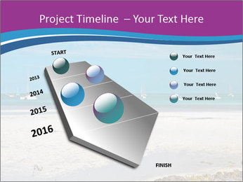 Empty Beach PowerPoint Templates - Slide 26