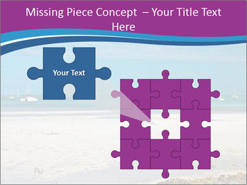 Empty Beach PowerPoint Templates - Slide 45