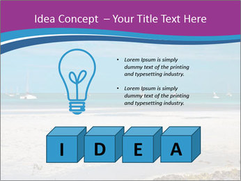 Empty Beach PowerPoint Templates - Slide 80