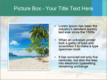 Hawaii Beach PowerPoint Template - Slide 13