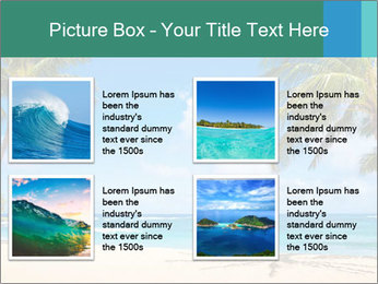 Hawaii Beach PowerPoint Template - Slide 14