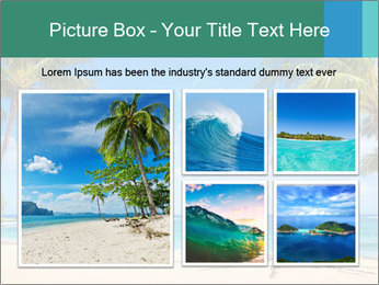 Hawaii Beach PowerPoint Template - Slide 19