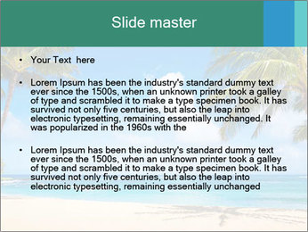 Hawaii Beach PowerPoint Template - Slide 2