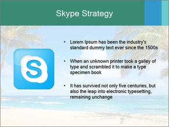 Hawaii Beach PowerPoint Template - Slide 8