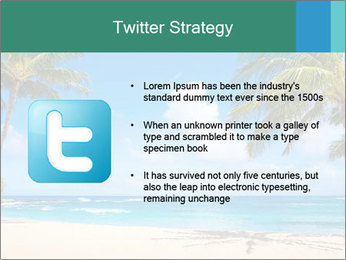 Hawaii Beach PowerPoint Template - Slide 9