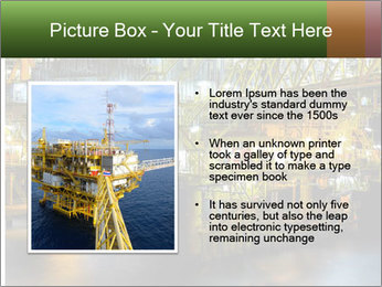 Offshore Oil Rig PowerPoint Templates - Slide 13