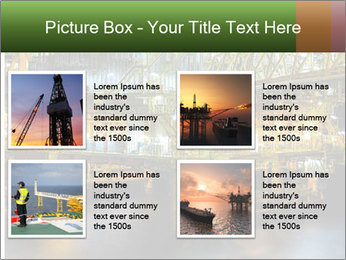 Offshore Oil Rig PowerPoint Template - Slide 14