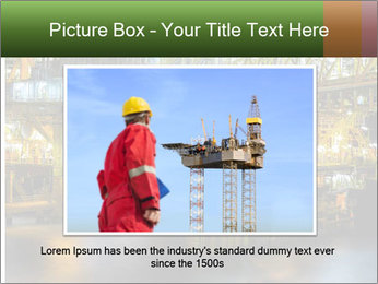 Offshore Oil Rig PowerPoint Template - Slide 15