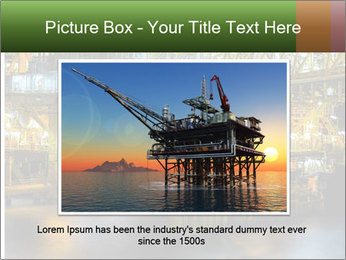 Offshore Oil Rig PowerPoint Templates - Slide 16