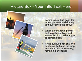 Offshore Oil Rig PowerPoint Templates - Slide 17
