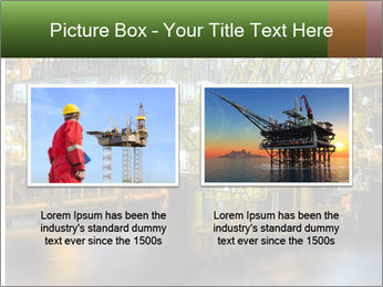 Offshore Oil Rig PowerPoint Templates - Slide 18