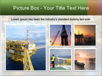 Offshore Oil Rig PowerPoint Templates - Slide 19