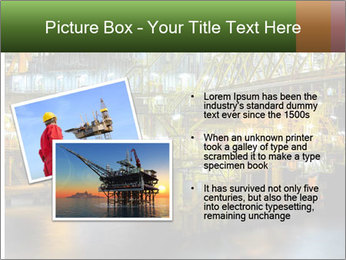 Offshore Oil Rig PowerPoint Templates - Slide 20