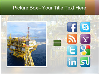 Offshore Oil Rig PowerPoint Templates - Slide 21