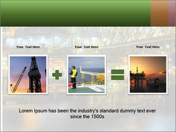 Offshore Oil Rig PowerPoint Templates - Slide 22
