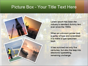 Offshore Oil Rig PowerPoint Templates - Slide 23