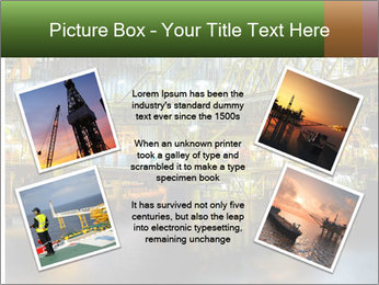 Offshore Oil Rig PowerPoint Template - Slide 24