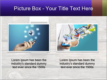 Smartphone On Wooden Table PowerPoint Template - Slide 18