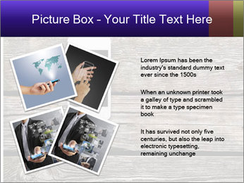 Smartphone On Wooden Table PowerPoint Template - Slide 23